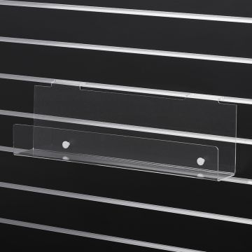 Magasinholder akryl til rillepanel 60 cm