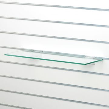 Glashylde i klart glas til glasskab - findes i 3 forskellige farver<br />mål L58xD25 cm - tykkelse 8 mm