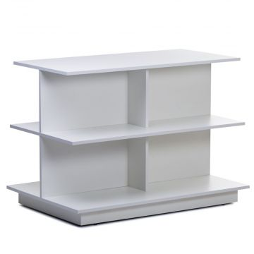 Stabelbord & butiksbord med 3 hylder |