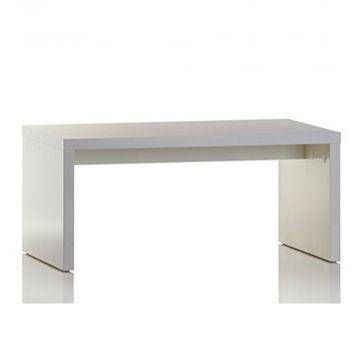 Oplægsbord - hvid melaminfolie<br />mål L100xB60xH45 cm