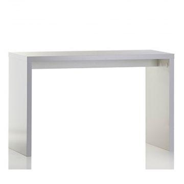 Oplægsbord - hvid melaminfolie - mål L120xB60xH77 cm