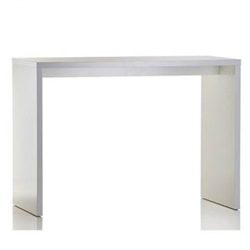 Oplægsbord - hvid melaminfolie - mål L140xB70xH100 cm