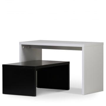 Salgs borde - butiksborde hvid & sort |