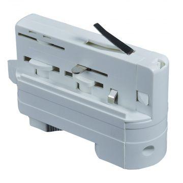 Pendel adaptor for lysskinne i hvid  