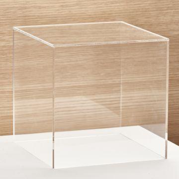 Akryl montre med åben ende - mål 30x30x30 cm