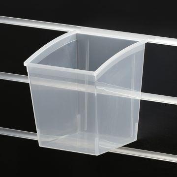 Plastbokse til rillepanel 16x14xH-18 cm