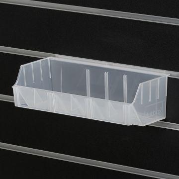 Plastkasse til rillepanel 29x13xH-10 cm