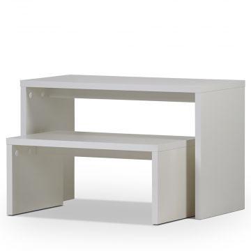 Salgsborde - oplægsborde | Hvid melamin