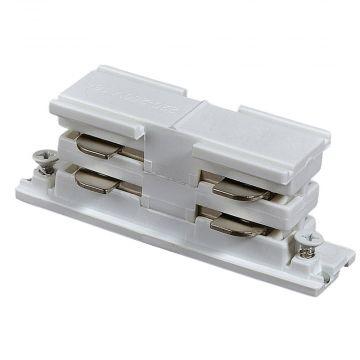 Samle adaptor til 2 lysskinner   Hvid
