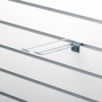 T-Varekrog til slatwall 20 cm f/ prisarm