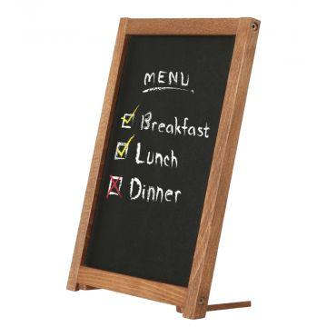 Kridttavle til bord A5 | Skrå menutavle