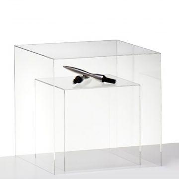 Udstillingskasse - boks i klar akryl