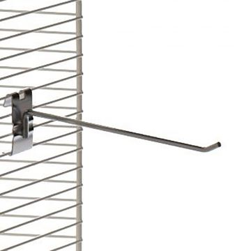 Varekrog i zink - enkelt for trådnet L25 cm - trådtykkelse Ø6 mm