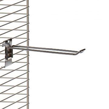 Varekrog i zink - dobbelt for trådnet L25 cm - trådtykkelse Ø4,8 mm